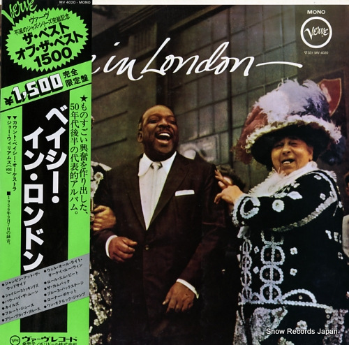 BASIE, COUNT basie in london MV4020 - front cover