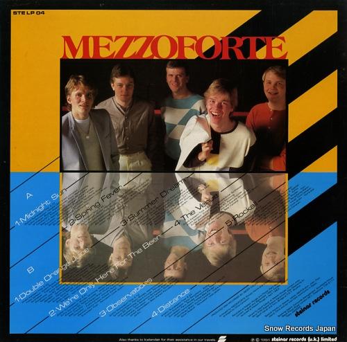 MEZZOFORTE observations STELP04 - back cover