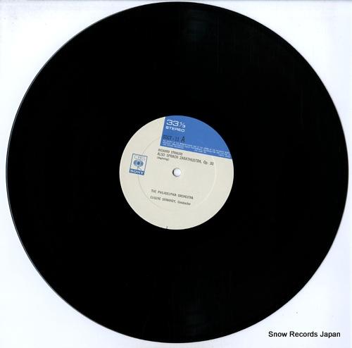 ORMANDY, EUGENE richard strauss; also sprach zarathustra SOCT11 - disc