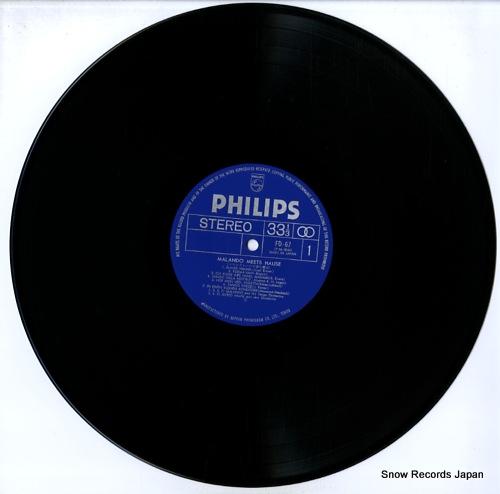 MALANDO / ALFRED HAUSE malando meets hause FD-67 - disc