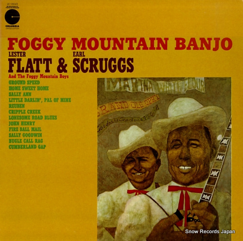 FLATT, LESTER, AND EARL SCRUGGS foggy mountain banjo LE10043 - front cover