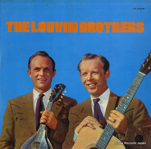 LOUVIN BROTHERS, THE deluxe double CR-9305B - front cover