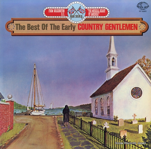 COUNTRY GENTLEMEN, THE the best of the early country gentlemen GT-6022 - front cover