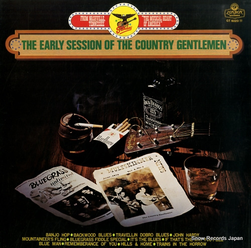 COUNTRY GENTLEMEN, THE the early session of the country gentlemen GT6020M - front cover