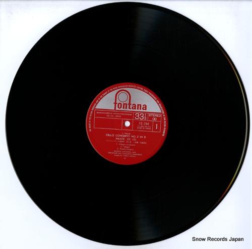 GENDRON, MAURICE haydn; cello concerto no.2 FG-244 - disc