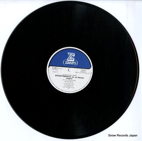 TRIO PASQUIER, LE mozart; divertimento kv563 E-1022 - disc