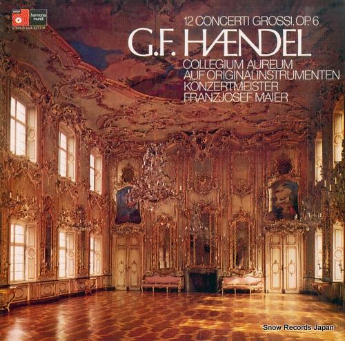 COLLEGIUM AUREUM handel; 12 concerti grossi, op.6 (3) ULX-3212-H - front cover