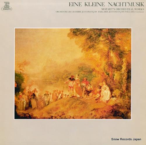PAILLARD, JEAN-FRANCOIS eine kleine nachtmusik - mozart's orchestral works FCCA860 - front cover