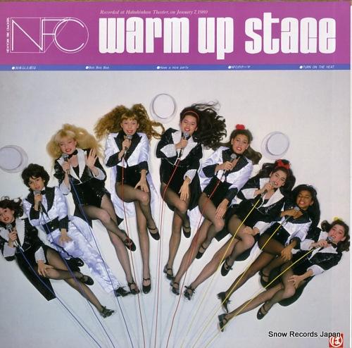 OGURA, KEI / NFC ogura kei / warm up stage MI-1380 - back cover