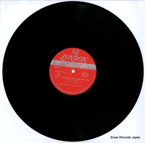 RICHTER, KARL bach; goldberg variations, bwv.988 MZ5126 - disc