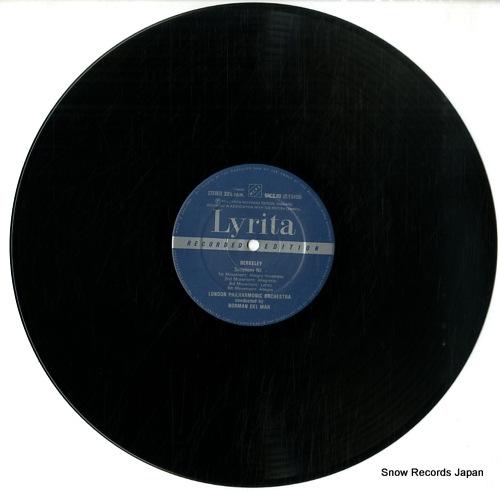 DEL MAR, NORMAN berkeley; symphony no.1 SRCS.80 - disc
