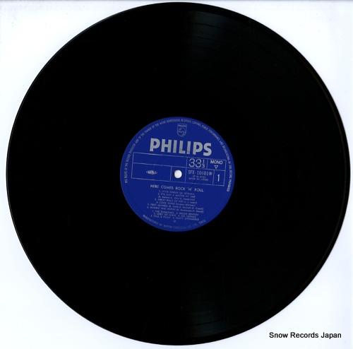 V/A here comes rock 'n' roll vol.1 SFX-10601-2(M) - disc