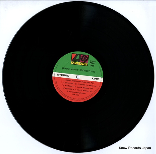 MANN, HERBIE herbie mann's greatest hits FCPA-1023 - disc