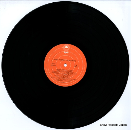 POLNAREFF, MICHEL michel polnareff's greatest hits FCPA-3 - disc