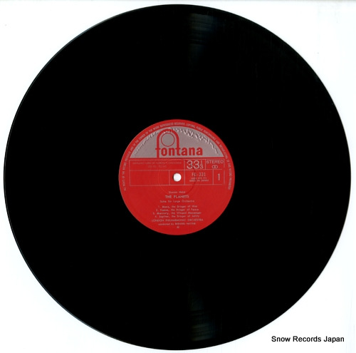 HAITINK, BERNARD holst; the planets FG-331 - disc