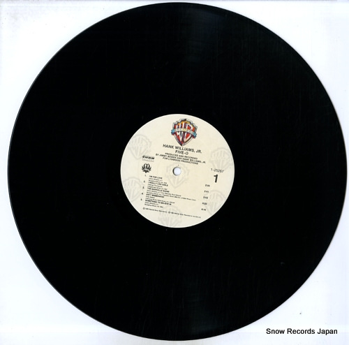 WILLIAMS, HANK, JR. five-o 925267-1 - disc
