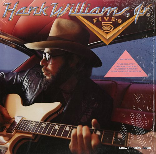 WILLIAMS, HANK, JR. five-o 925267-1 - front cover