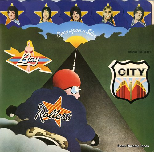 BAY CITY ROLLERS once upon a star IES-80481 - front cover