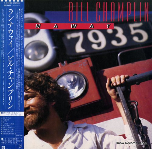 CHAMPLIN, BILL runaway P-11098 - front cover
