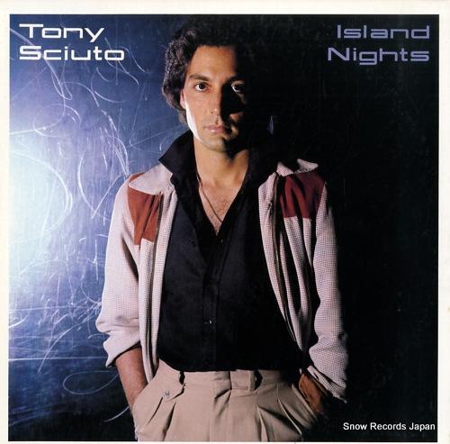 SCIUTO, TONY island nights 25.3P-205 - front cover