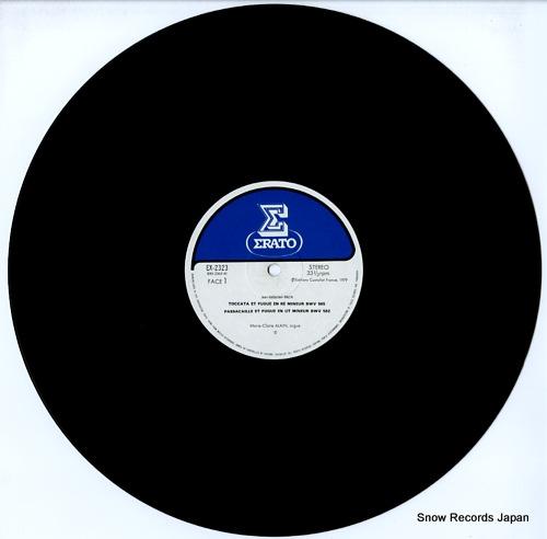 ALAIN, MARIE-CLAIRE bach; l'ceuvre pour orgue EX-2323 - disc