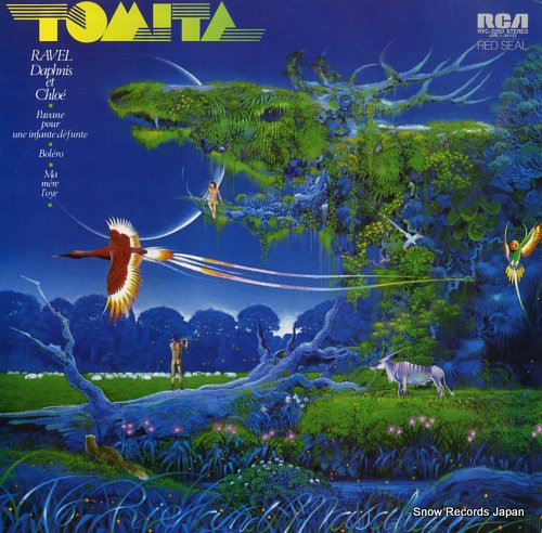 TOMITA, ISAO ravel; daphnis et chloe RVC-2250 - front cover