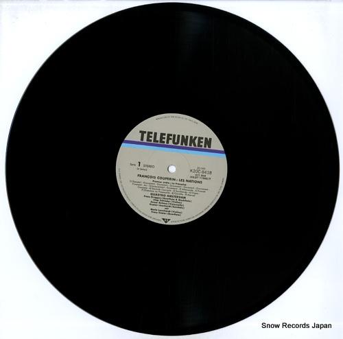 QUADRO AMSTERDAM couperin; les nations K20C8418-9 - disc