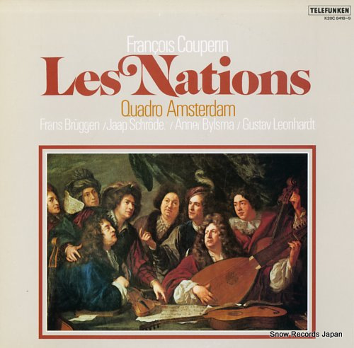 QUADRO AMSTERDAM couperin; les nations K20C8418-9 - front cover