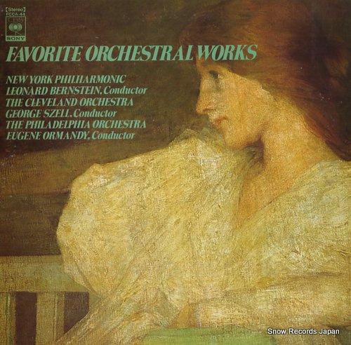 V/A favorite orchestral works FCCA-44 - front cover