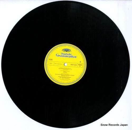 BARENBOIM, DANIEL deutsche ouverturen 2531215 - disc