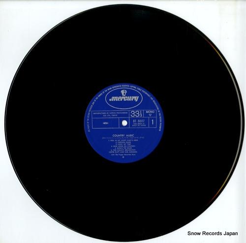FLATT, LESTER, AND EARL SCRUGGS country music BT-8007 - disc