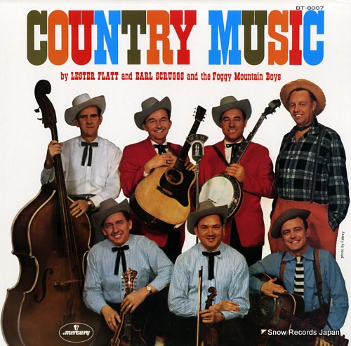 FLATT, LESTER, AND EARL SCRUGGS country music BT-8007 - front cover