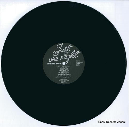 TACHI, HIROSHI just one night SKS-65 - disc