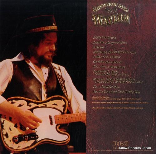 JENNINGS, WAYLON greatest hits waylon AHL1-3378 - back cover