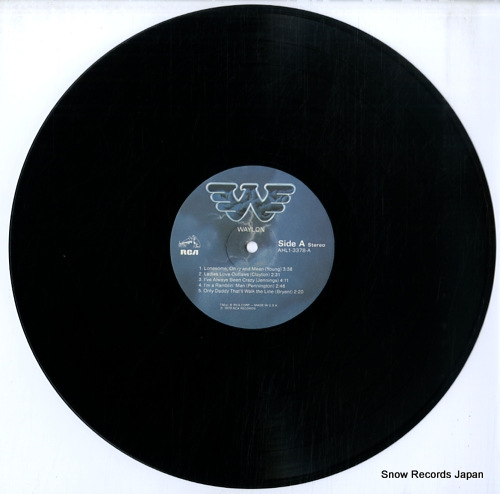 JENNINGS, WAYLON greatest hits waylon AHL1-3378 - disc