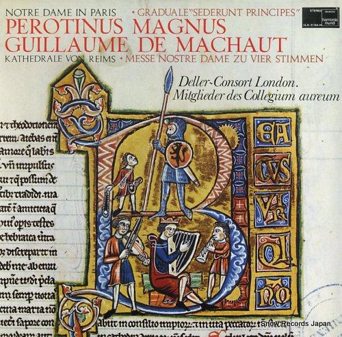 DELLER CONSORT LONDON notre dame in paris, kathedrale von reims ULS-3154-H - front cover
