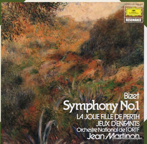 MARTINON, JEAN bizet; symphony no.1 15MG3034 - front cover