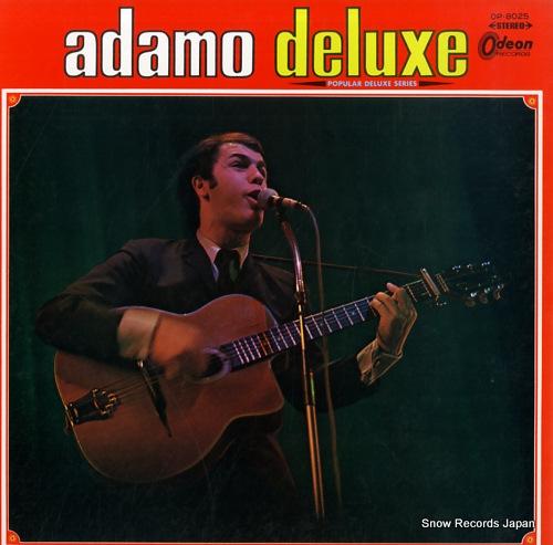ADAMO adamo deluxe OP.8025 - front cover
