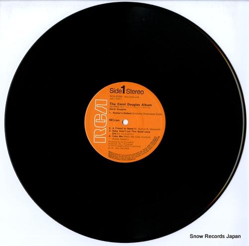 DOUGLAS, CAROL the carol douglas album RCA-6284 - disc
