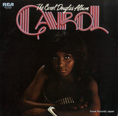 DOUGLAS, CAROL the carol douglas album RCA-6284 - front cover