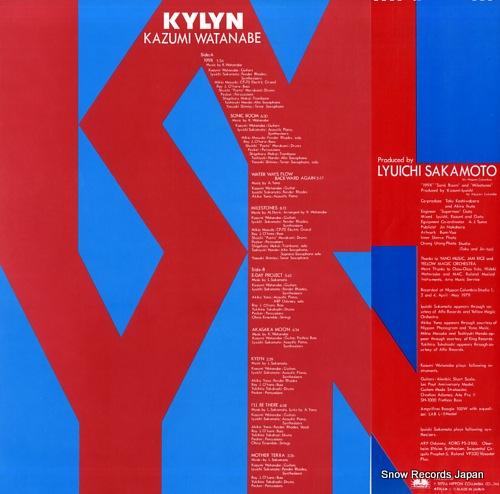WATANABE, KAZUMI kylyn YX-7595-ND - back cover