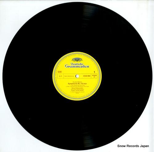 ABBADO, CLAUDIO mahler; symphonie nr.4 2530966 - disc