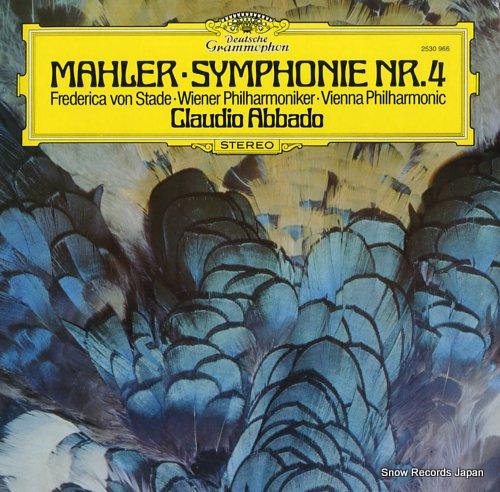 ABBADO, CLAUDIO mahler; symphonie nr.4 2530966 - front cover
