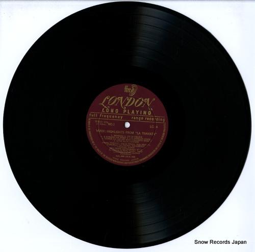 PRADELLI, FRANCESCO MOLINARI verdi; la traviata highlights LC14 - disc