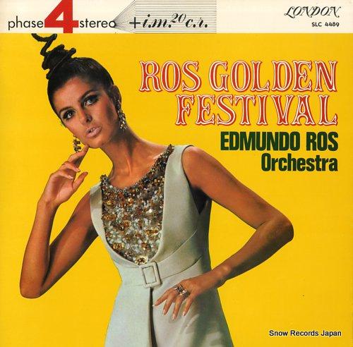 ROS EDMUNDO - ros golden festival - 33T