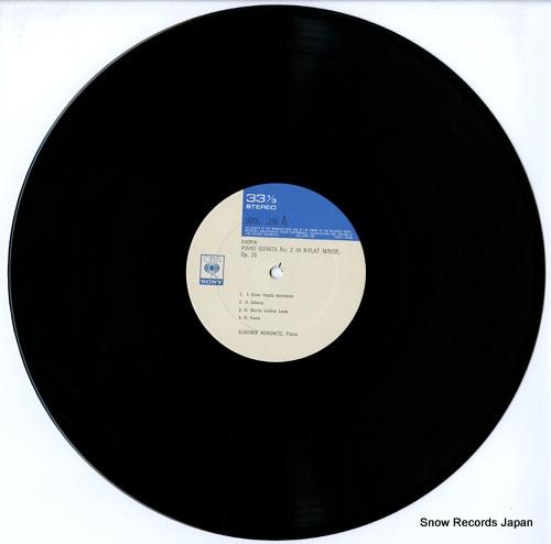 HOROWITZ, VLADIMIR works by chopin schumann rachmaninoff and liszt SOCL1150 - disc