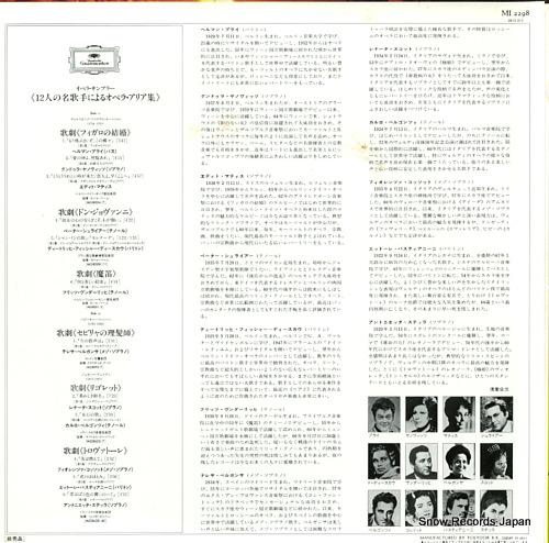 V/A famous opera arias MI2298 - back cover