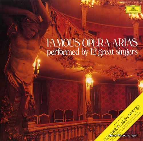 V/A famous opera arias MI2298 - front cover