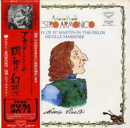 MARRINER, NEVILLE vivaldi; l'estro armonico SLC(A)2354-5 - front cover