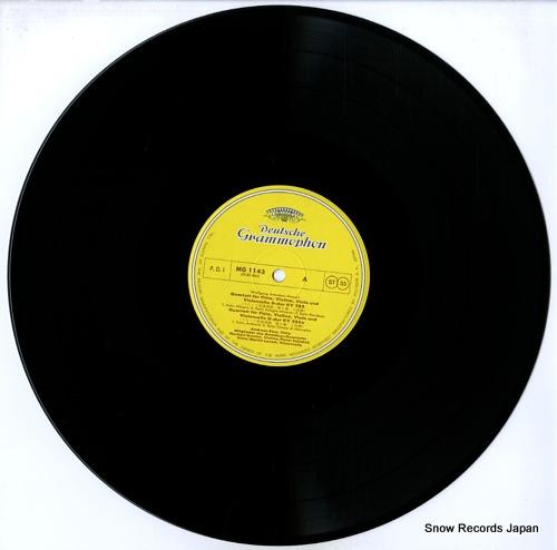 BLAU, ANDREAS mozart; flute quartets MG1143 - disc